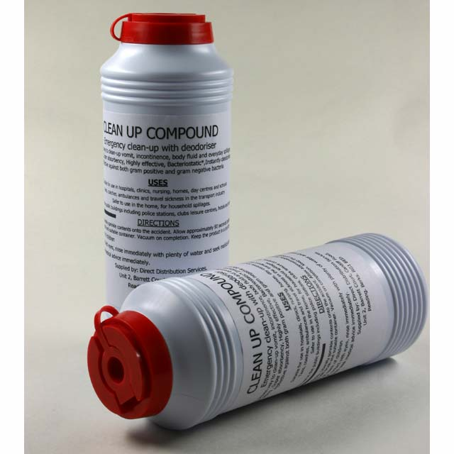Emergency Clean Up Granules: For emergency spills of all kinds, these granules are invaluable.