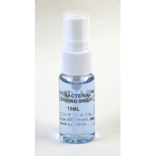 Anti-Bacterial Surface Cleaner, Pack of 5 x 15ml Personal Size.