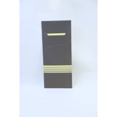 Cutlery Sleeve Printed with Striped Design