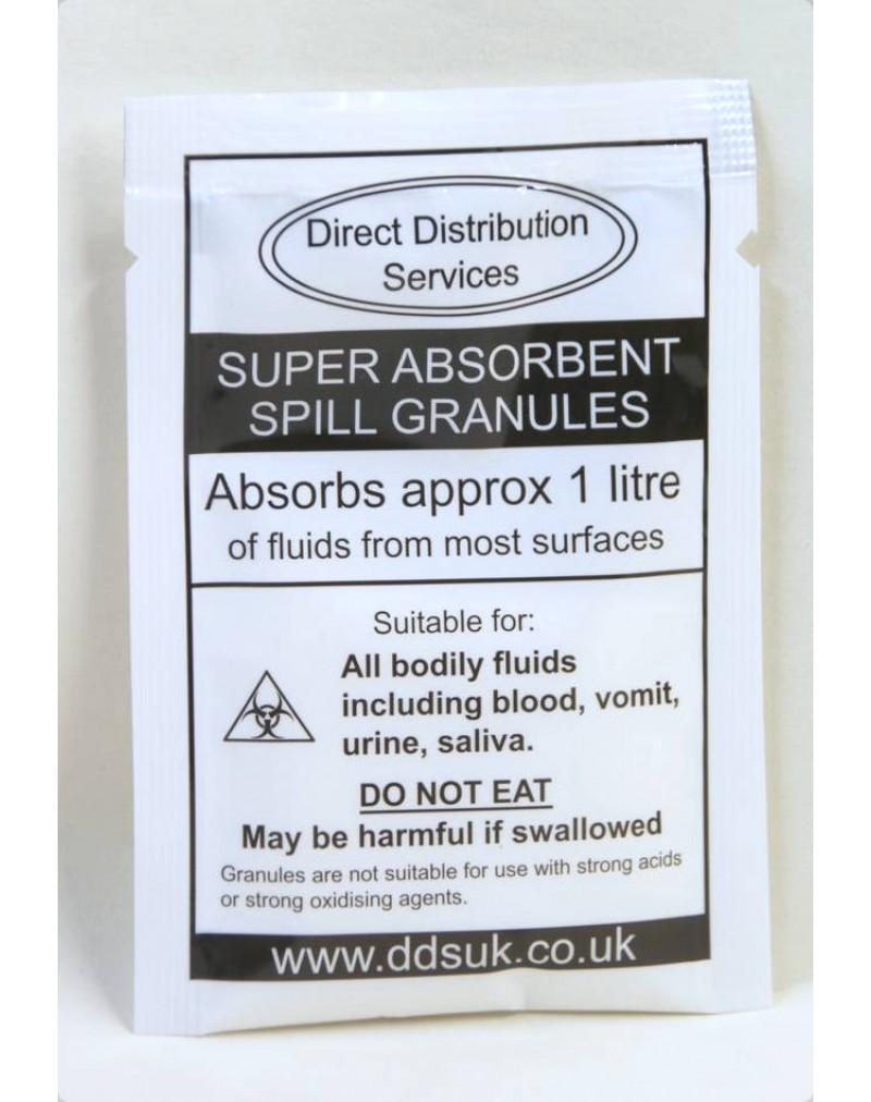Super-Absorbent Clean-up Granules (Pack of 20)