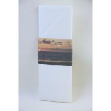 Printed Napkin Sleeve, Sunset Design