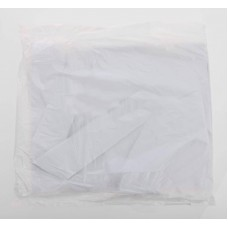 White Poly Apron Flat Packed (Pack of 100)